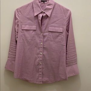 Theory 3/4 sleeve button down